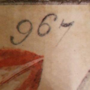 artist signed design Kitchen - Vintage 1996 Trivet